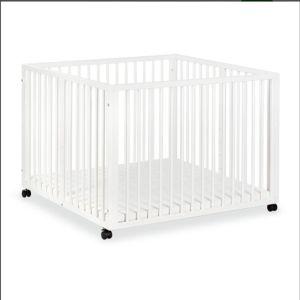 Πάρκο ξύλινο μωρού 5 επιπέδων