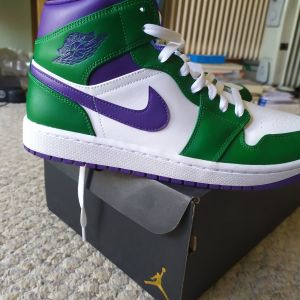 Nike air Jordan 1 Hulk καινούργια!